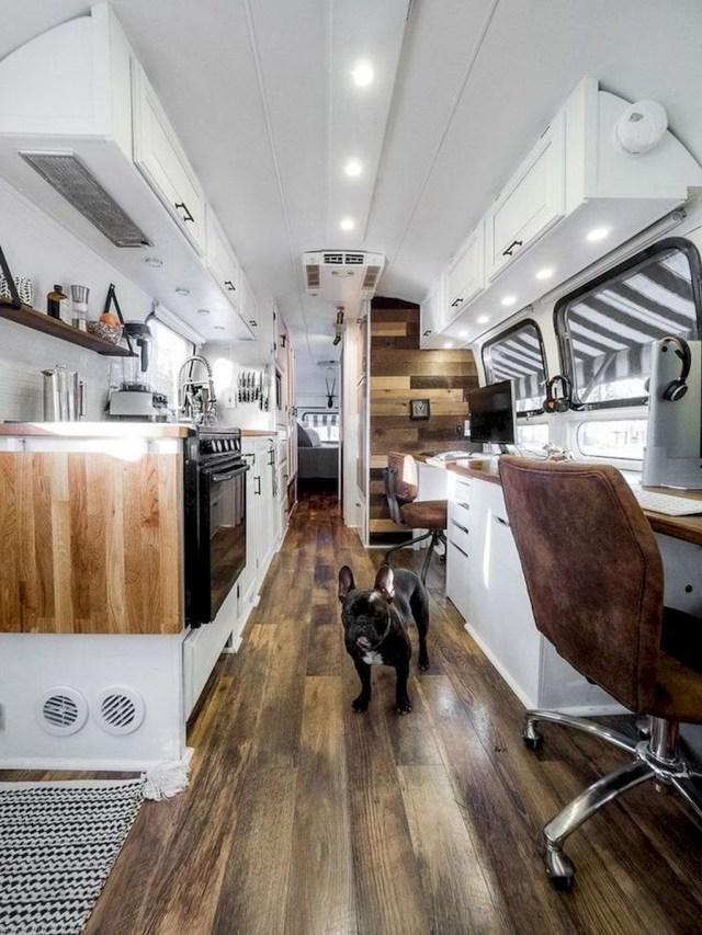 Impressive Airstream Interior Design Ideas To Try 14