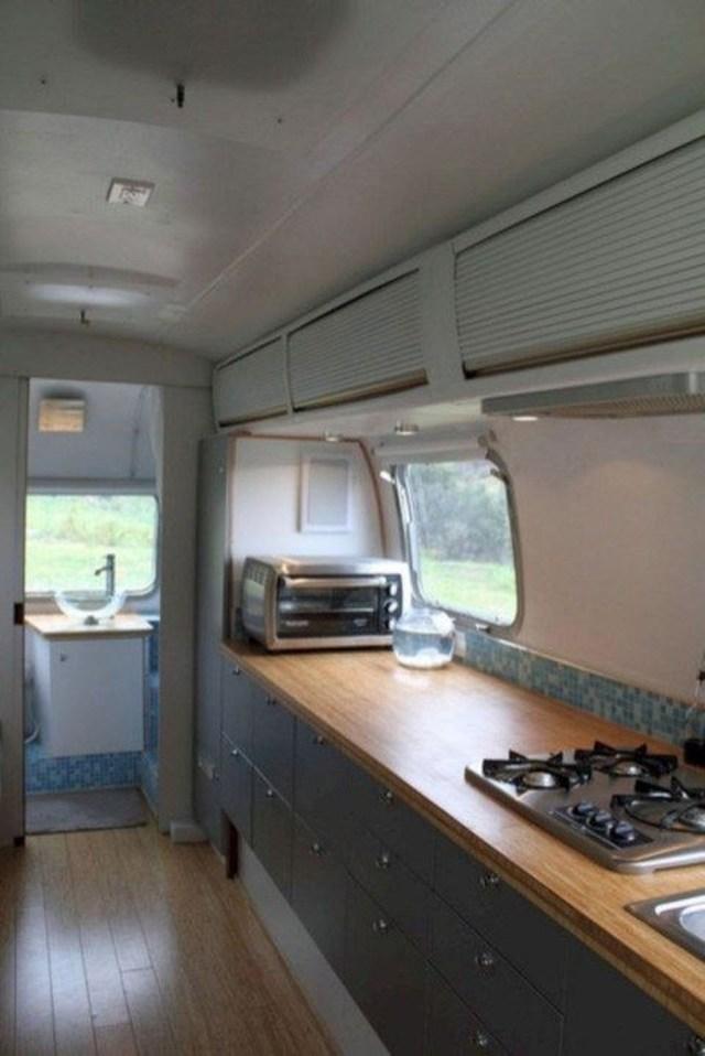 Impressive Airstream Interior Design Ideas To Try 16