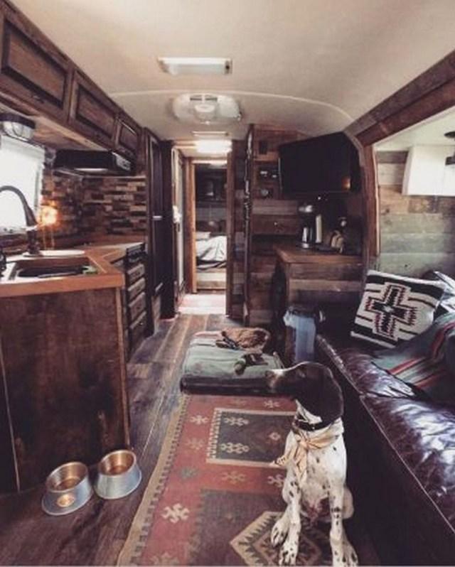 Impressive Airstream Interior Design Ideas To Try 19