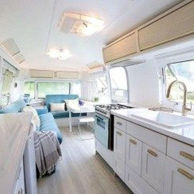 Impressive Airstream Interior Design Ideas To Try 35