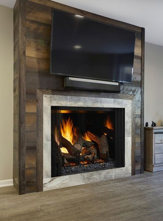 Luxury Clad Cover Fireplace Ideas To Try 11
