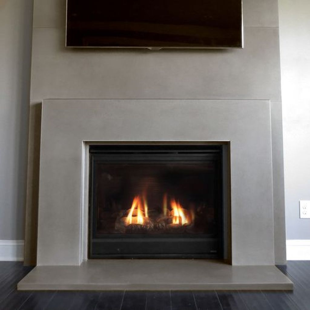 Luxury Clad Cover Fireplace Ideas To Try 13