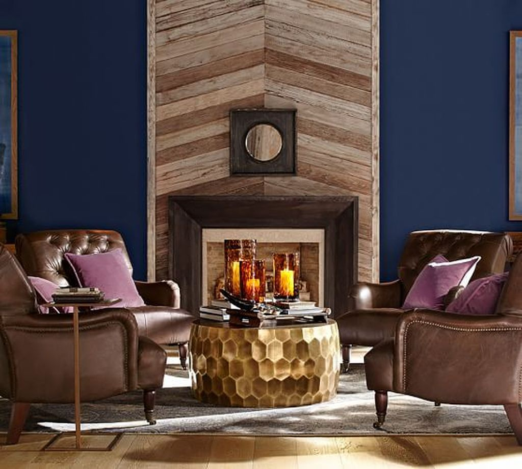 Luxury Clad Cover Fireplace Ideas To Try 16