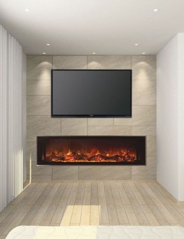 Luxury Clad Cover Fireplace Ideas To Try 34