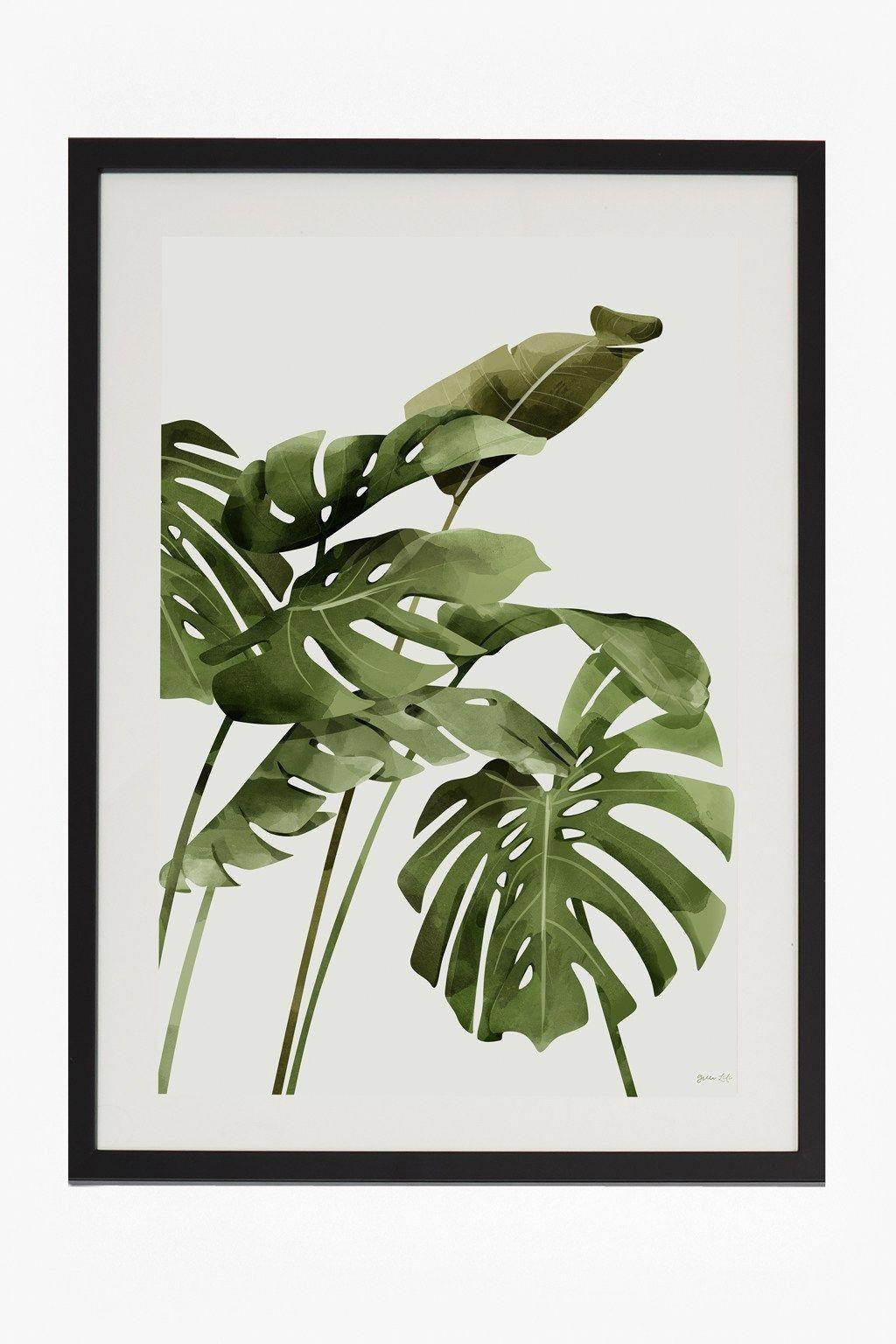Splendid Tropical Leaf Decor Ideas For Home Design 27