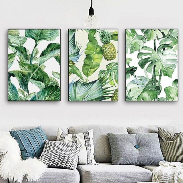 Splendid Tropical Leaf Decor Ideas For Home Design 29