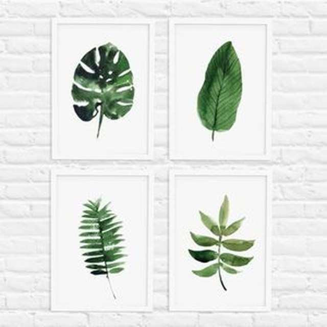 Splendid Tropical Leaf Decor Ideas For Home Design 36