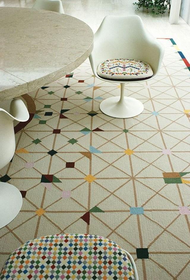 Vintage Pattern Interior Design Ideas To Try 22