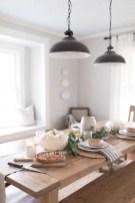 Adorable Fall Farmhouse Dining Room Decor Ideas 05