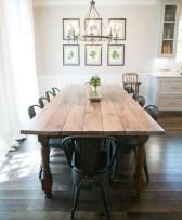 Adorable Fall Farmhouse Dining Room Decor Ideas 06