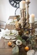 Adorable Fall Farmhouse Dining Room Decor Ideas 25