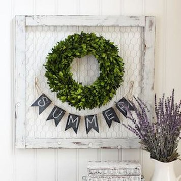 Elegant Summer Farmhouse Decor Ideas For Home 15