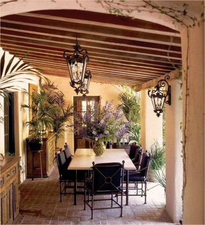Extraordinary Mediterranean Patio Design Ideas To Try Now 24