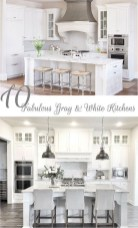 Fancy White Kitchen Cabinets Ideas To Try Asap 01