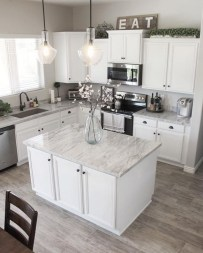 Fancy White Kitchen Cabinets Ideas To Try Asap 06