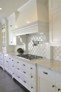 Fancy White Kitchen Cabinets Ideas To Try Asap 11