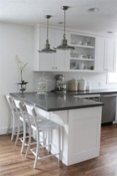 Fancy White Kitchen Cabinets Ideas To Try Asap 16