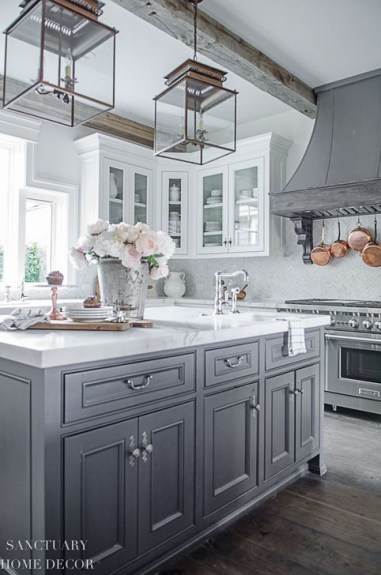 Fancy White Kitchen Cabinets Ideas To Try Asap 19