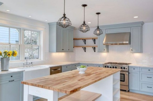 Fancy White Kitchen Cabinets Ideas To Try Asap 37