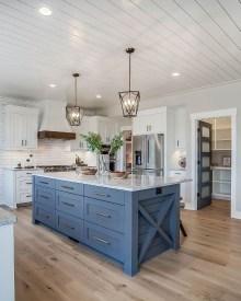 Gorgeous Blue And White Kitchen Design Ideas To Try 08
