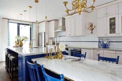 Gorgeous Blue And White Kitchen Design Ideas To Try 20
