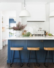 Gorgeous Blue And White Kitchen Design Ideas To Try 21