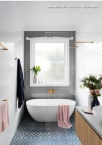 Marvelous Bathroom Design Ideas With Small Tubs 02