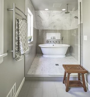 Marvelous Bathroom Design Ideas With Small Tubs 36