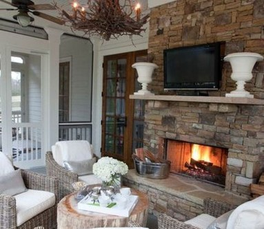 Pretty Outdoor Family Room Design Ideas To Try This Year 20