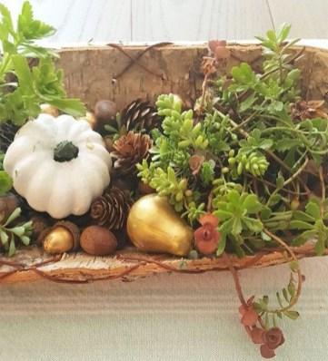Rustic Diy Fall Centerpiece Ideas For Your Home Décor 01