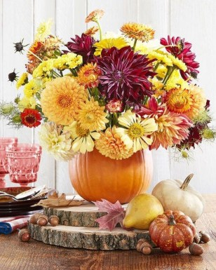 Rustic Diy Fall Centerpiece Ideas For Your Home Décor 08