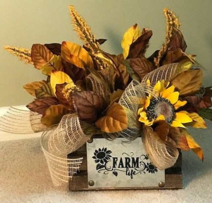 Rustic Diy Fall Centerpiece Ideas For Your Home Décor 21
