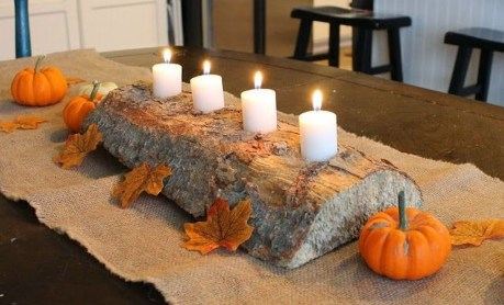 Rustic Diy Fall Centerpiece Ideas For Your Home Décor 33