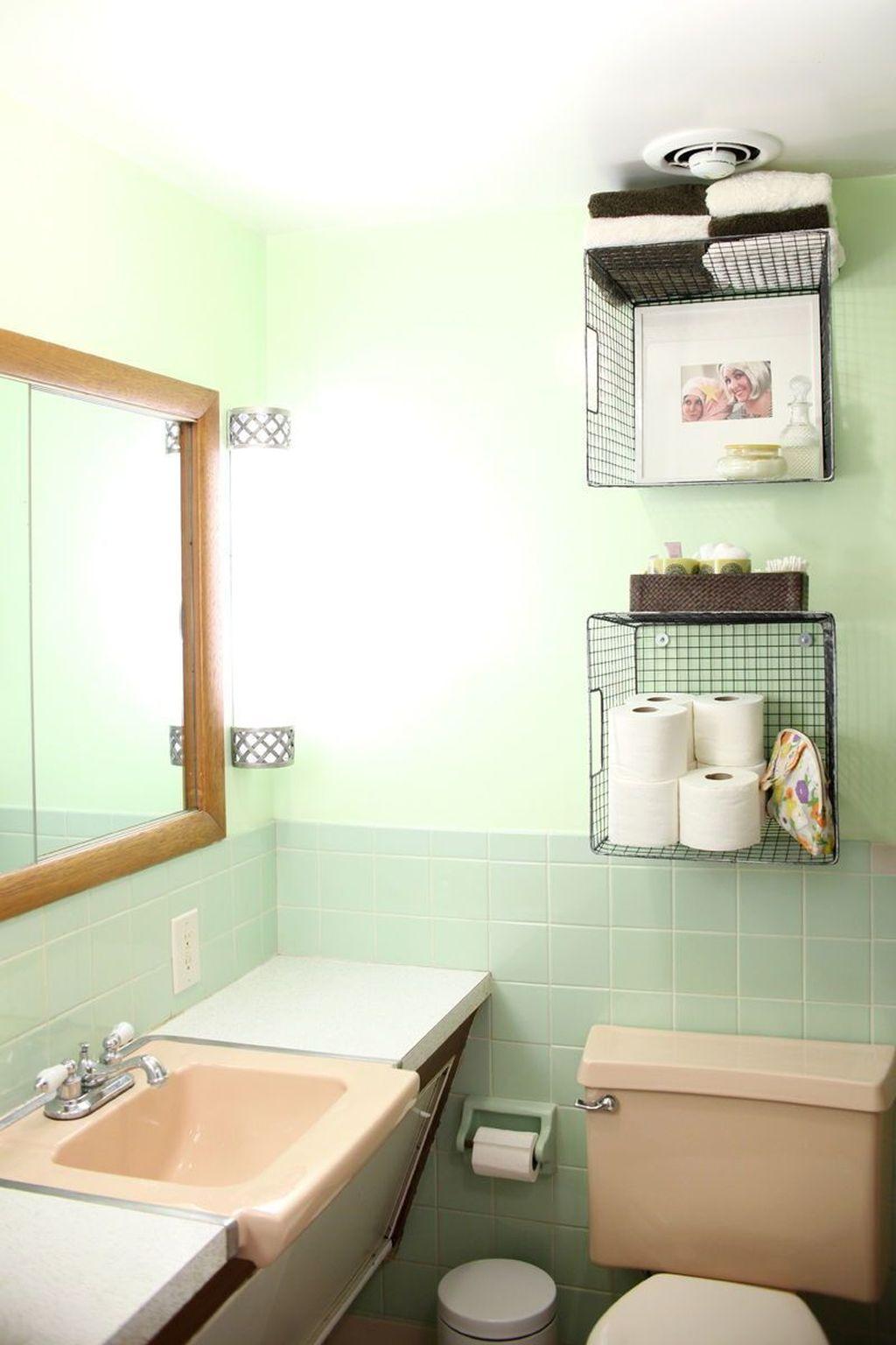 Affordable Diy Organization Bathroom Design Ideas For Bottle And Towel Labels36