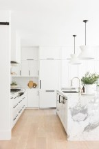 Amazing Scandinavian Kitchen Design Ideas With Island And Cabinets To Try04