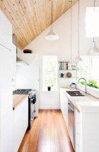 Amazing Scandinavian Kitchen Design Ideas With Island And Cabinets To Try21