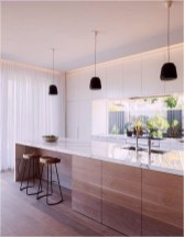 Amazing Scandinavian Kitchen Design Ideas With Island And Cabinets To Try22