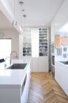 Amazing Scandinavian Kitchen Design Ideas With Island And Cabinets To Try28