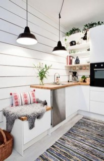 Amazing Scandinavian Kitchen Design Ideas With Island And Cabinets To Try32