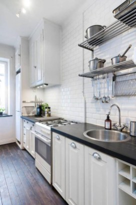 Amazing Scandinavian Kitchen Design Ideas With Island And Cabinets To Try33
