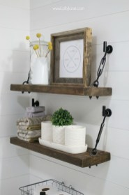Awesome Diy Turnbuckle Shelf Ideas To Beautify Interior Decor19