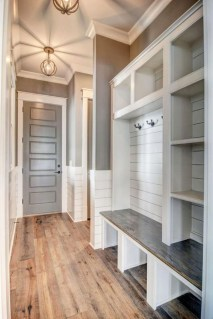 Delightful Mudroom Storage Design Ideas To Have Soon32