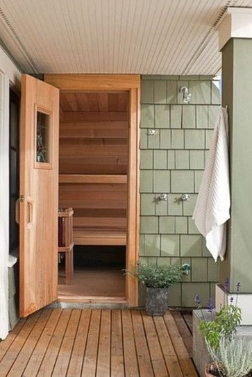 Excellent Palette Sauna Room Design Ideas For Winter Decoration To Try13