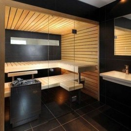 Excellent Palette Sauna Room Design Ideas For Winter Decoration To Try14