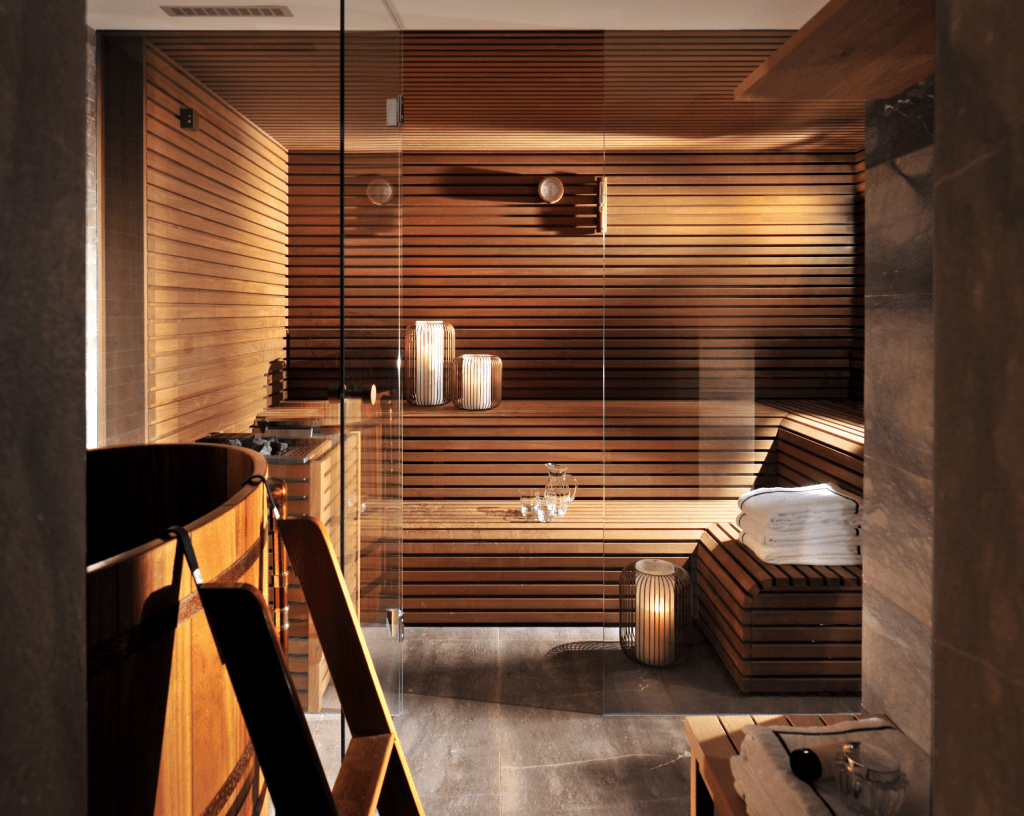 Excellent Palette Sauna Room Design Ideas For Winter Decoration To Try29