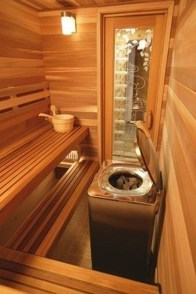 Excellent Palette Sauna Room Design Ideas For Winter Decoration To Try34