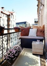 Impressive Fall Apartment Balcony Decorating Ideas To Try10