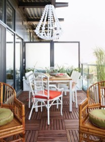 Impressive Fall Apartment Balcony Decorating Ideas To Try19