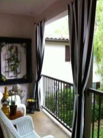 Impressive Fall Apartment Balcony Decorating Ideas To Try21