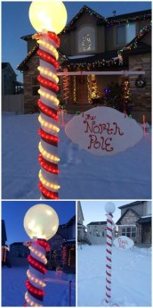 Stunning Diy Outdoor Decoration Ideas For Christmas That Looks Cool13